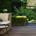 Elegancki, zielony ogród