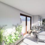 Projekt dużego balkonu