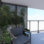 Fotel na balkonie